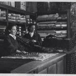 магазин ткани в здании музея